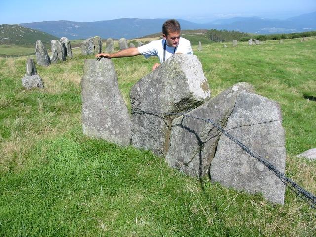 Prado das Chantas. O Xistral. Verdadeiro Dartmoor galego.