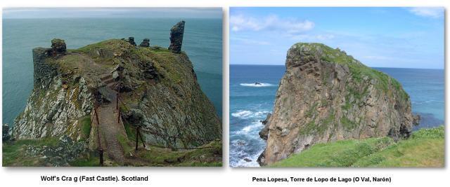 Wolf's Crag (Scotland) & Pena Lopesa (Narón)