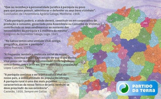 Paroquias e bisbarras atuais de Galiza, herdeiras duma facies anterior