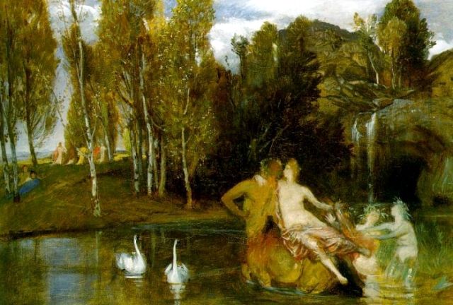 Arnold Böcklin Elisian Fields